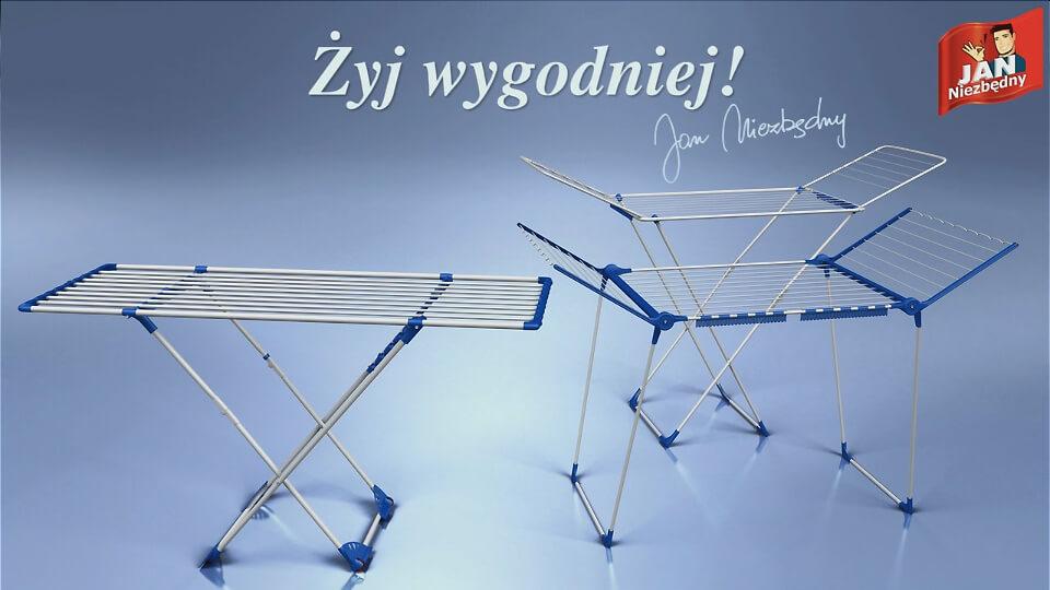 Film reklamowy animacja 3D Jan Niezbędny Suszarki