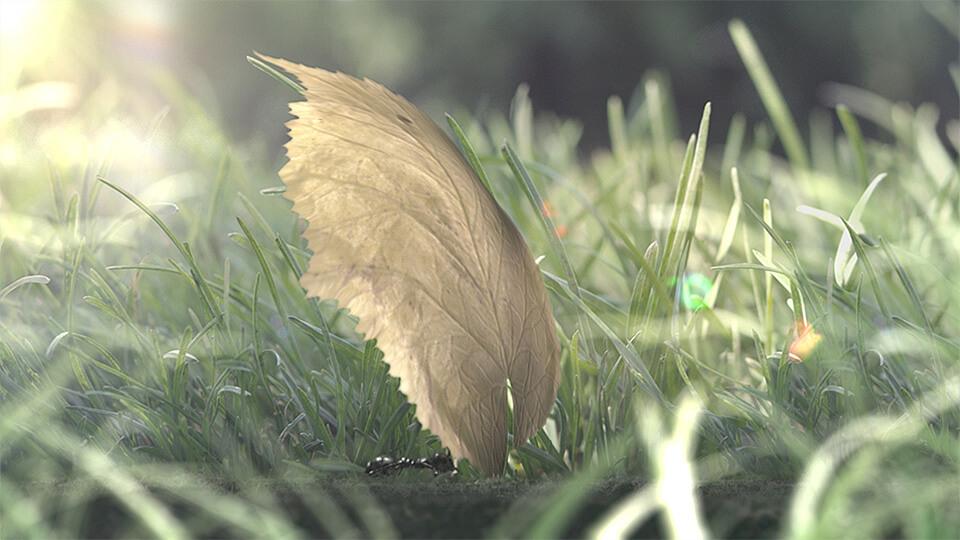 Animacja komputerowa 3D mrowka