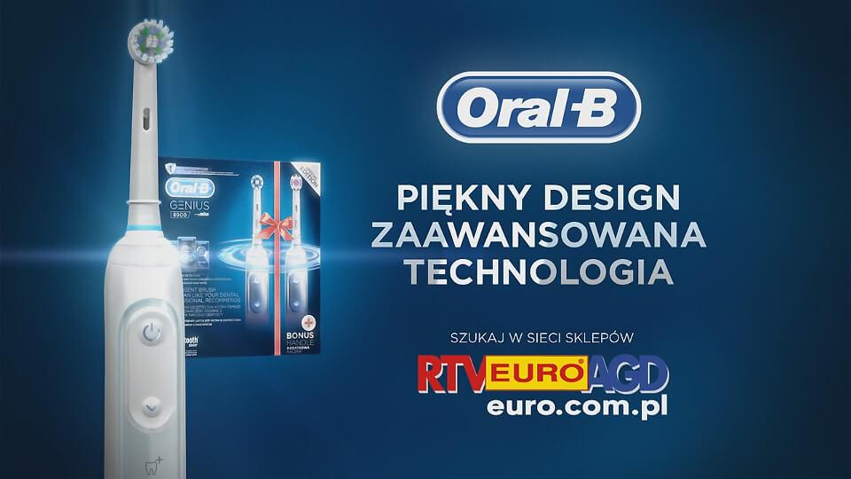 Animacja 3D spot reklamowy film OralB