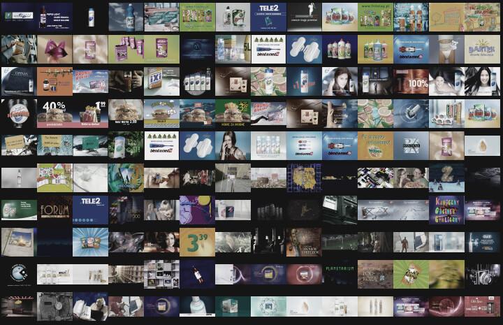 produkcja reklamy telewizyjnej grafika komputerowa